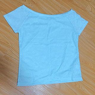 ジーユー(GU)の半袖カットソー(カットソー(半袖/袖なし))