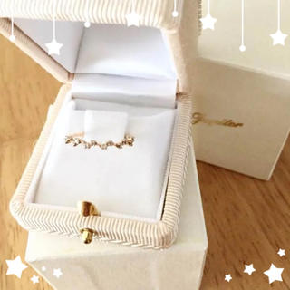 ジュピターゴールドレーベル(jupiter GOLD LABEL)の美品 ジュピター ダイヤリング 11号(リング(指輪))