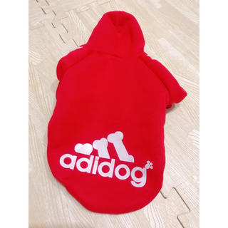 アディダス(adidas)のダックス用 Mサイズ 美品 犬用 服 ペット服(ペット服/アクセサリー)