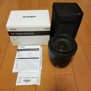 SIGMA - SIGMA 24-70mm F2.8 DG OS HSM Canonマウント