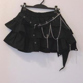 アルゴンキン(ALGONQUINS)のKERA風 アシメ スカート(ミニスカート)