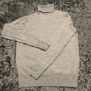 MUJI (無印良品) - 無印良品 タートルネック ニット セーター