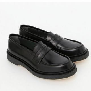 アパルトモンドゥーズィエムクラス(L'Appartement DEUXIEME CLASSE)の【Malieeeさま専用】AP STUDIO ADIEU ローファー 38(ローファー/革靴)
