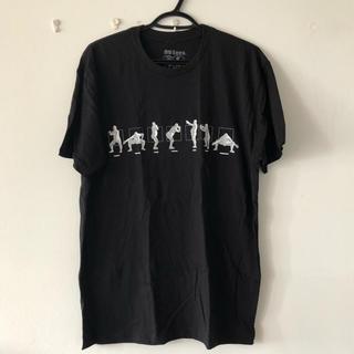 エイティーエイティーズ(88TEES)の(新品)Abema TV 日村がゆく 88tees Tシャツ 黒L(Tシャツ/カットソー(半袖/袖なし))