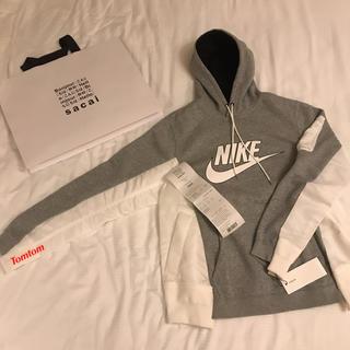 サカイ(sacai)のエドガー様専用 sacai x nike men's hoodie size 2(パーカー)