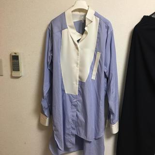 ロエベ(LOEWE)の値下げ ロエベ アシンメトリーシャツ(シャツ)