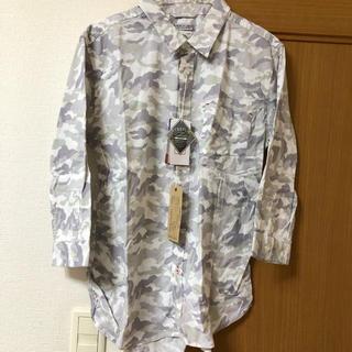 テットオム(TETE HOMME)の新品タグ付き VERTEX & Co カモフラ柄 シャツ(シャツ)