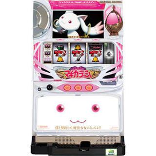 日本シャフト - パチスロ実機 魔法少女まどか☆マギカ 不要機付 きゅうべぇパネル
