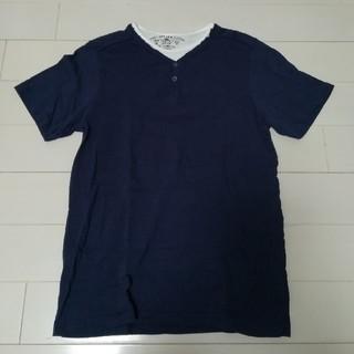 ザラ(ZARA)の美品ザラ重ね着半袖(Tシャツ/カットソー)