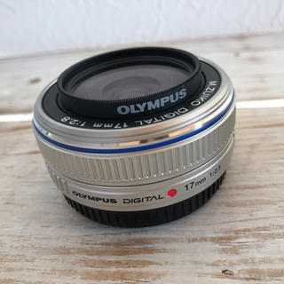 オリンパス(OLYMPUS)のOLYMPUS レンズ17ミリ  (レンズ(単焦点))