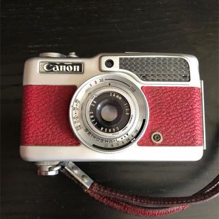 キヤノン(Canon)のCanon color demi RED ハーフカメラ(フィルムカメラ)