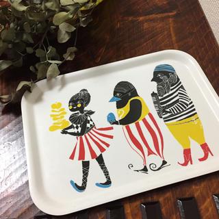 マリメッコ(marimekko)のマリメッコトレイ*クルクエ(テーブル用品)