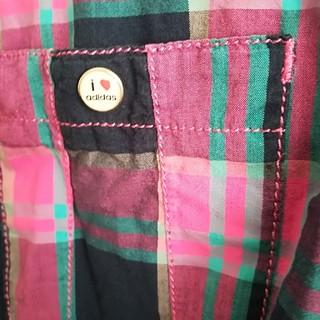 アディダス(adidas)のチェックシャツ(シャツ/ブラウス(長袖/七分))