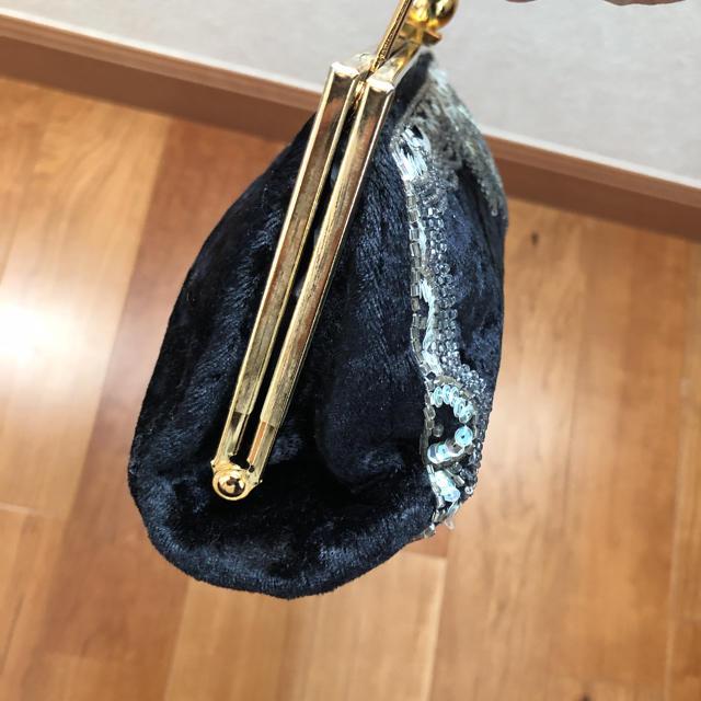 ThreeFourTime(スリーフォータイム)の【美品】パーティーバッグ スパンコール バッグ クラッチバッグ レディースのバッグ(クラッチバッグ)の商品写真