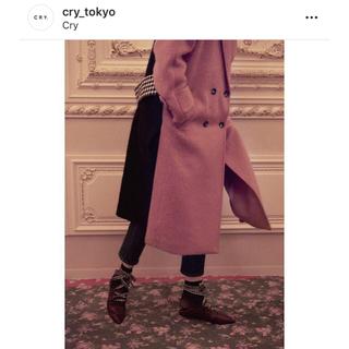 クライ(Cry. STORE)のmade in HEAVEN❤︎チェスターコートblack❤︎定価6万円(チェスターコート)