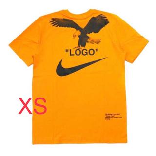 ナイキ(NIKE)のNIKE OFF WHITE M NRG A6 TEE  XS オレンジ(Tシャツ/カットソー(半袖/袖なし))