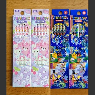 サンリオ(サンリオ)の【新品】ぼんぼんりぼん  ポケモン かきかた鉛筆  4ダース(鉛筆)