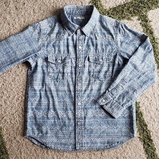 ジーユー(GU)の綿シャツ 120㎝ GU(ブラウス)