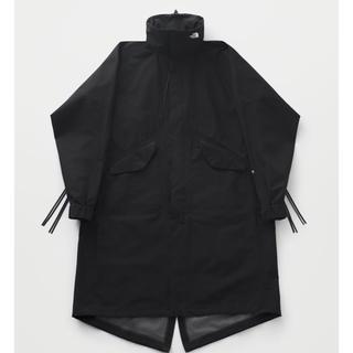 ハイク(HYKE)のthe north face × hyke military coat 黒 L(ミリタリージャケット)