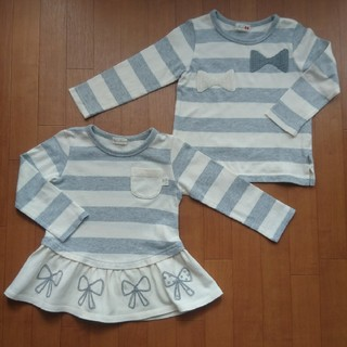ニットプランナー(KP)の美品KPロンT  2点セット(Tシャツ/カットソー)