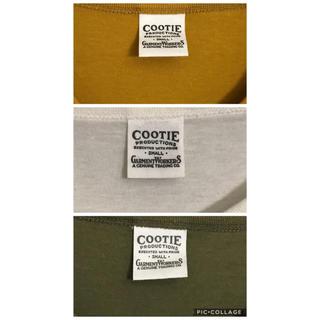 クーティー(COOTIE)のcootie 3枚セット Vネック無地Tシャツ Sサイ(Tシャツ/カットソー(半袖/袖なし))