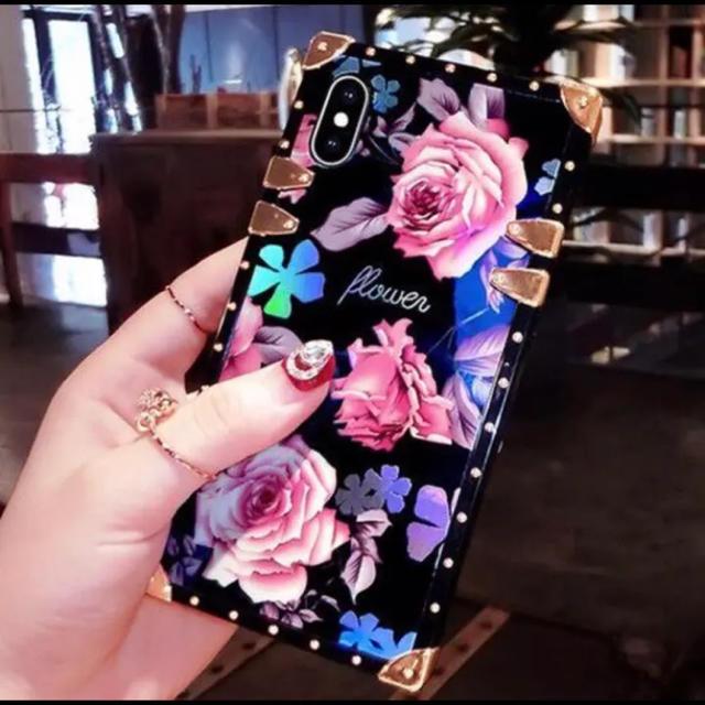 新品 バラ柄 iPhoneケースの通販 by peach.Jr's shop|ラクマ