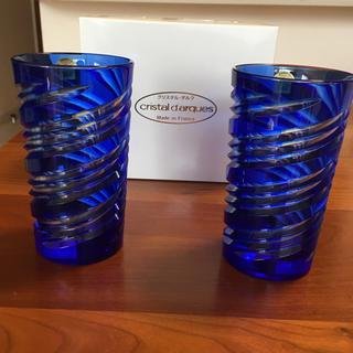 クリスタルダルク(Cristal D'Arques)のクリスタルダルク★ 切子グラス 未使用(グラス/カップ)