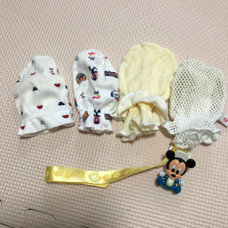 ディズニー(Disney)の赤ちゃん ミトン(手袋)