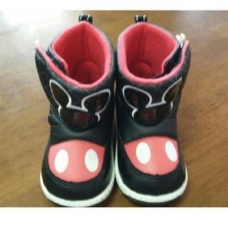 ディズニー(Disney)のミッキー ブーツ 14㎝(ブーツ)