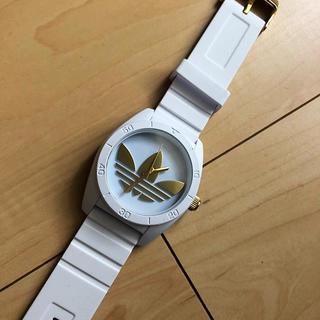 アディダス(adidas)のadidas 時計 ホワイト 男女兼用(腕時計(アナログ))