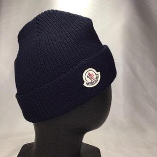 MONCLER - MONCLER ニット帽 ネイビー
