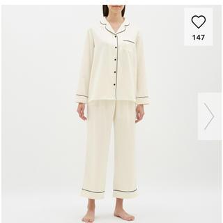 ジーユー(GU)のパジャマ サテン 長袖 GU ルームウェア(パジャマ)