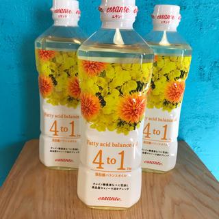 アムウェイ(Amway)の☆milkyマリリン 4to1 脂肪酸バランスオイル 600g 3本セット 毎(調味料)