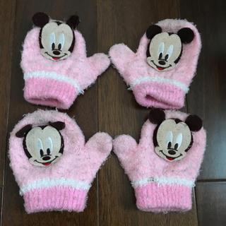 ディズニー(Disney)のミッキーマウス   女児   手袋(手袋)