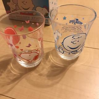 スヌーピー(SNOOPY)の新品 日本生命 スヌーピー グラス(グラス/カップ)