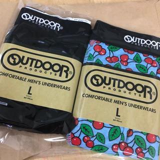 アウトドア(OUTDOOR)のOUTDOORボクサーパンツLサイズ3枚セット(ボクサーパンツ)