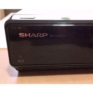 シャープ(SHARP)のシャープ 320GB ブルーレイレコーダー AQUOS BD-HDW63 中古品(ブルーレイレコーダー)