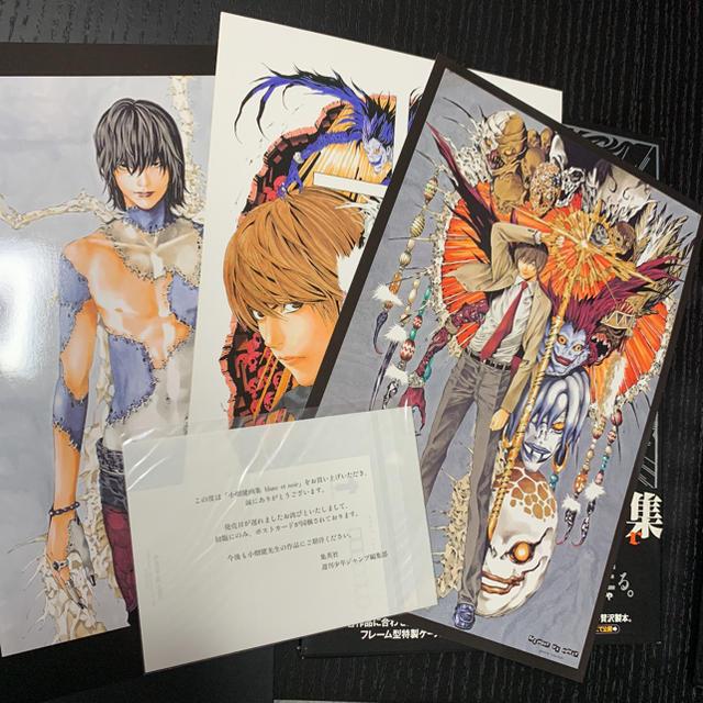 集英社 Blanc Et Noir 小畑健画集 Death Note デスノートの通販 By