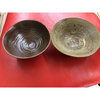 ハンドメイド  茶わん 2つ(食器)