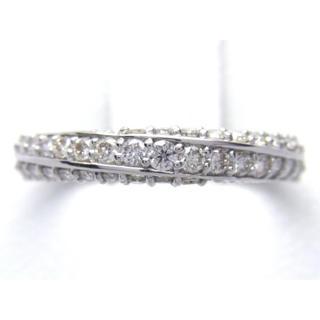 プラチナ 0.41ct ダイヤモンド リング(リング(指輪))