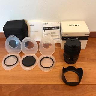 シグマ(SIGMA)のSIGMA Art 35mm F1.4 DG HSM キャノン EFマウント(レンズ(単焦点))
