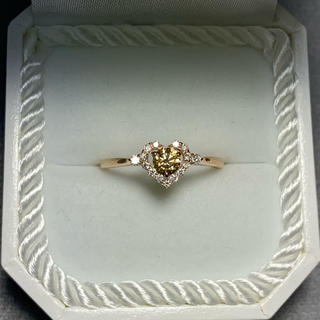 K18ピンクゴールド ダイヤモンドリング(リング(指輪))