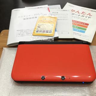 ニンテンドー3DS(ニンテンドー3DS)のニンテンドー 3ds  LL オレンジ  限定  本体(携帯用ゲーム本体)