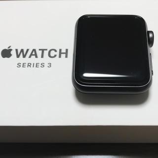 アップルウォッチ(Apple Watch)のApple Watch series3 38mm GPS(腕時計(デジタル))