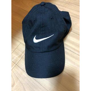 ナイキ(NIKE)のNIKE 帽子 ブラック(キャップ)