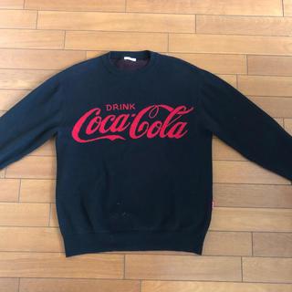 ジーユー(GU)のGU ジーユー 超大型店限定品 コカコーラコラボ ニット Sサイズ(ニット/セーター)