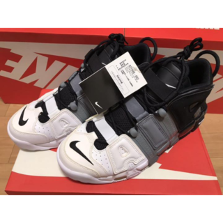 ☆モアテン NIKE AIR MORE UPTEMPO GS(スニーカー)