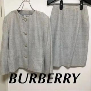 バーバリー(BURBERRY)のバーバリー セットアップ スーツ ジャケット/スカート(スーツ)