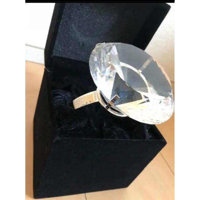 ビッグリング 美品 レディースのアクセサリー(リング(指輪))の商品写真