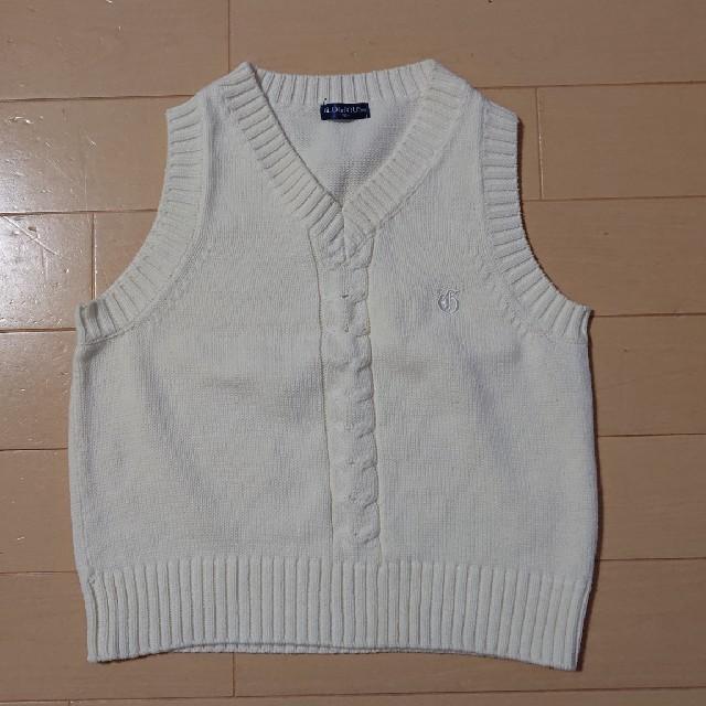 5adeef3aec2d3 アカチャンホンポ(アカチャンホンポ)の子ども服 白 ベスト フォーマル 100センチ キッズ ベビー
